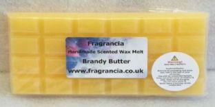 85 gram Highly Scented Wax Melt bar (BRANDY BUTTER)